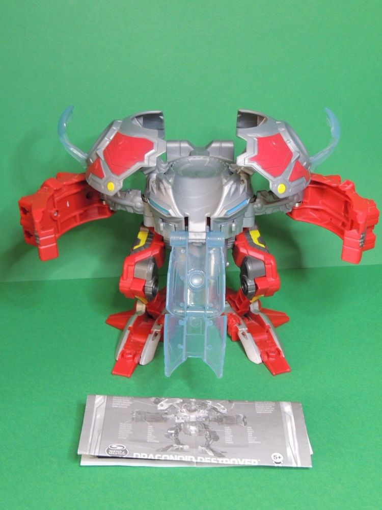 Bakugan red dragonoid destroyer set season 4 s4 mechtanium surge bakugan battle brawlers - Bakugan saison 4 ...