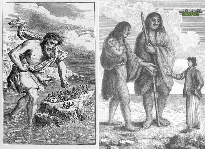 Ilustraciones de gigantes | Leyenda azteca, Mitologia azteca, Dioses aztecas