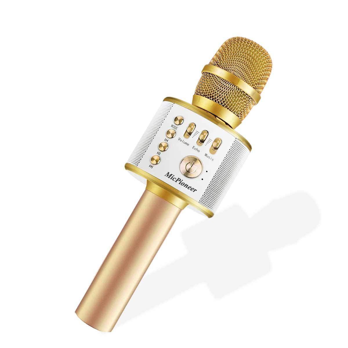 Micpioneer Wireless Karaoke Microphones, 3 in