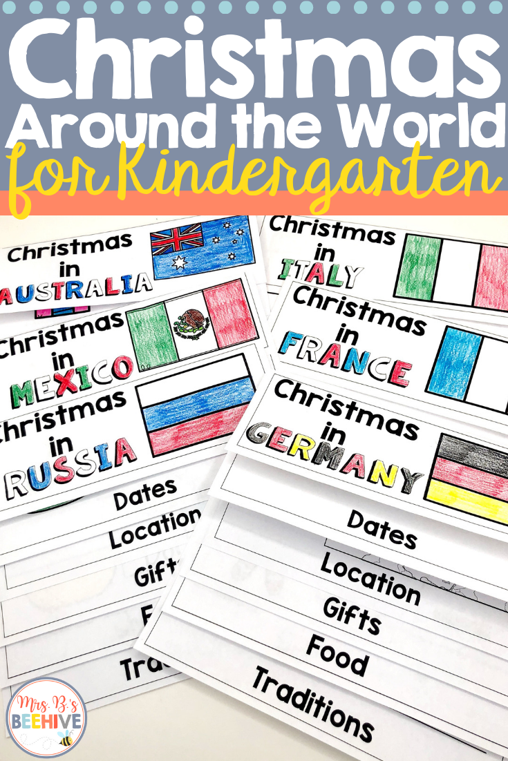 Christmas Around The World Flip Books For Kindergarten Kindergarten Books Christmas Kindergarten Kindergarten