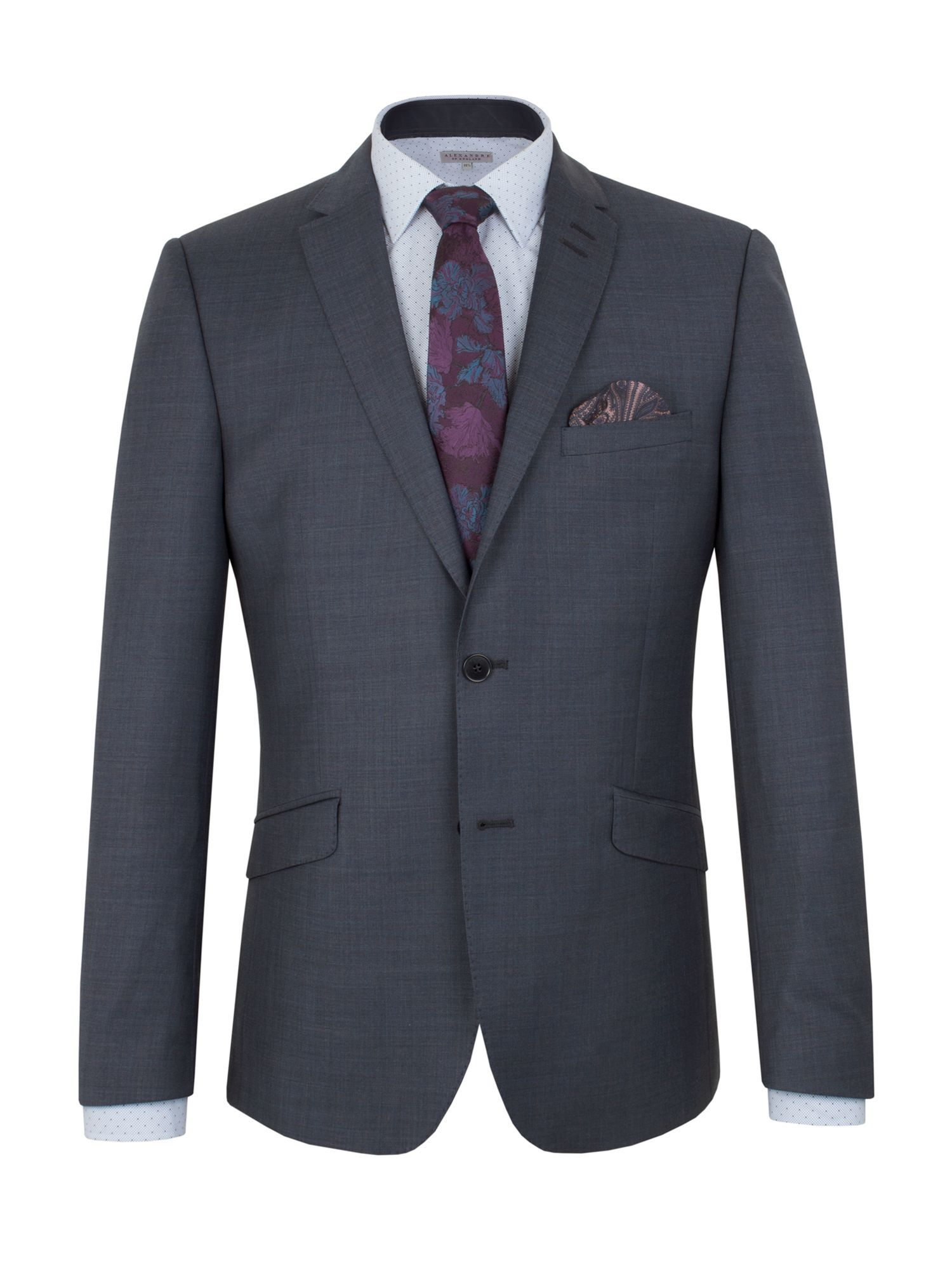 Buy: Men's Alexandre of England Plain Slim Fit Suit Jacket, Blue for just: £82.00 House of Fraser Currently Offers: Men's Alexandre of England Plain Slim Fit Suit Jacket, Blue from Store Category: Men > Suits & Tailoring > Suit Jackets for just: GBP82.00