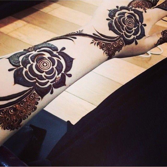 نقش حناء 2015 منتدى اناقة و موضة ربة المنزل والبنات Floral Henna Designs Rose Mehndi Designs Henna Designs Hand