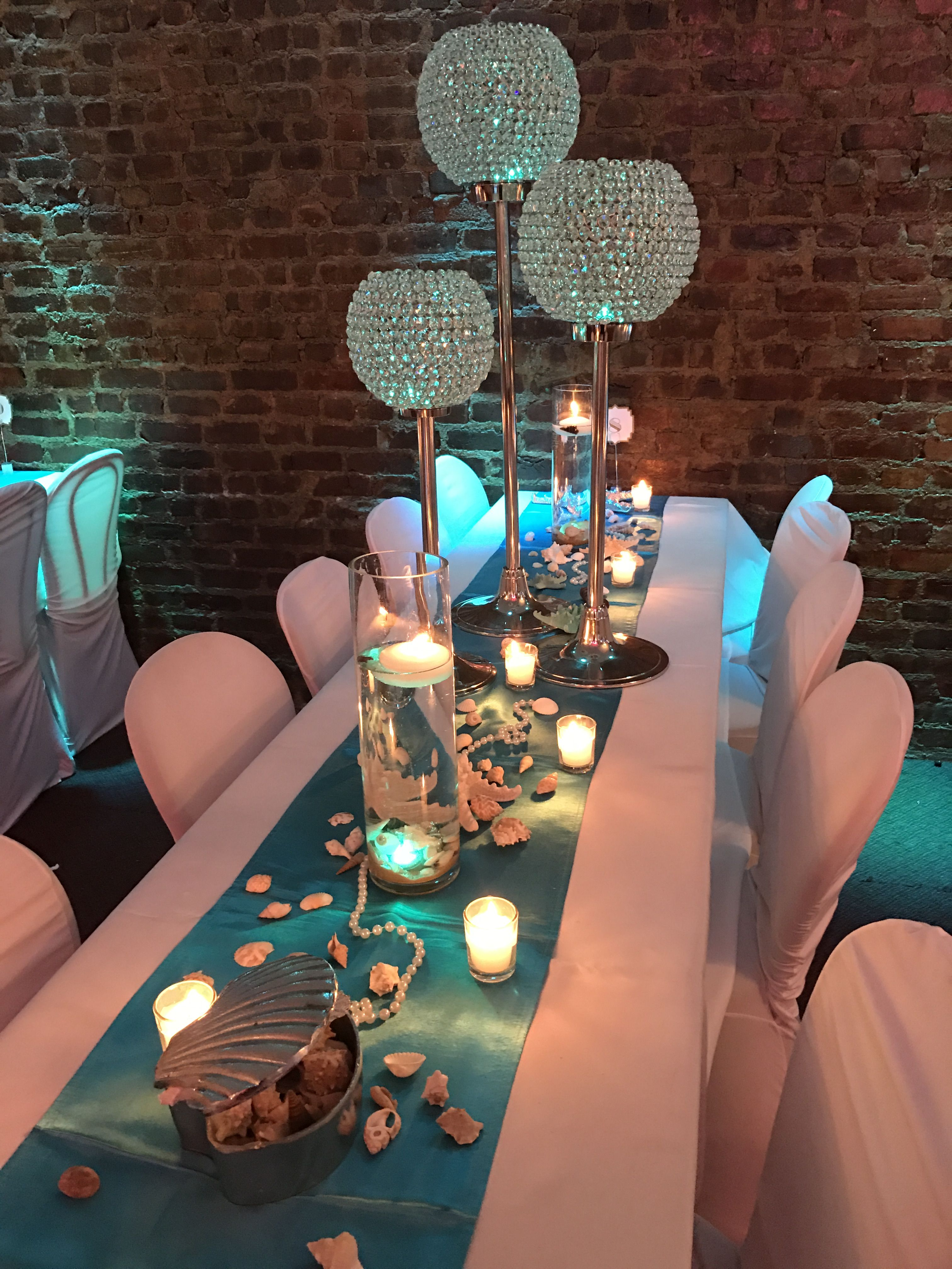 Under The Sea Under The Sea Party Centerpieces Quinceanera