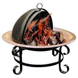 Anchor Your Patio Or Deck Seating Group With This Classic Firepit Crafted From Copper An Copper Fire Pit Patio Furniture For Sale Fire Pit Furniture