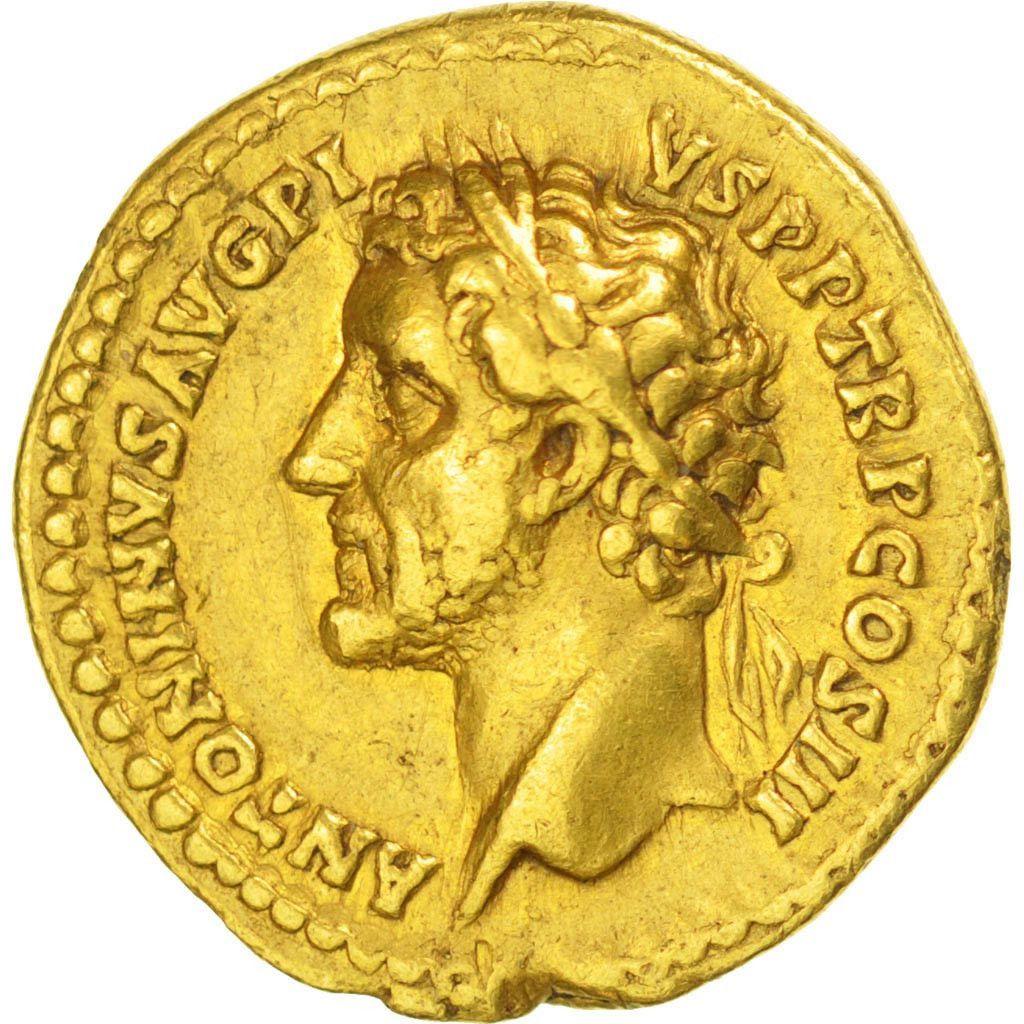 Antonin le Pieux, Aureus, Rome, AU (50-53), Or, RIC # 108c, 7,14