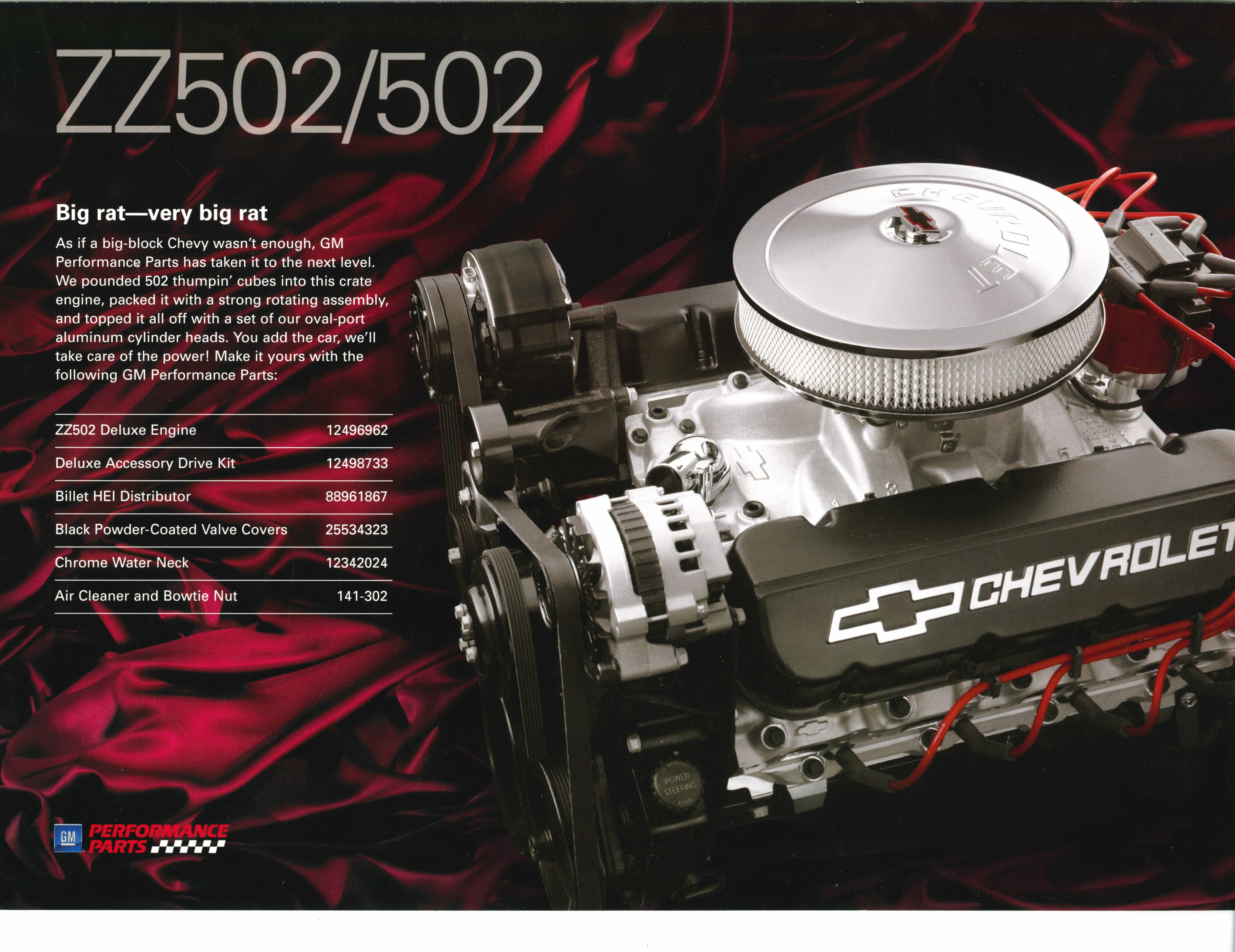 GM Performance zz502/502 | Car Engines | Engineering