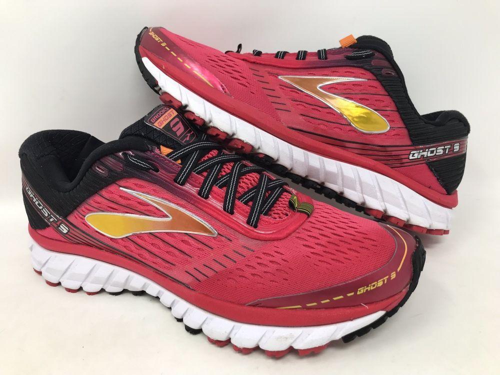 5b5303c21b60c Brooks Ghost 9 Pink Black Running Shoes Women s US 9  Brooks  RunningShoes