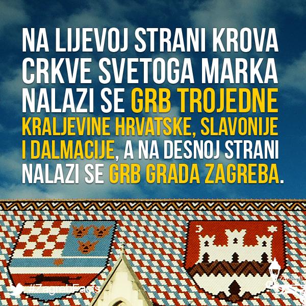Najljepsi Zagrebacki Krov Zagrebfacts Zagreb Zg Agram Markovacrkva Crkvasvetogamarka Gornjigrad Gradec Croatia Zagreb Saint Mark