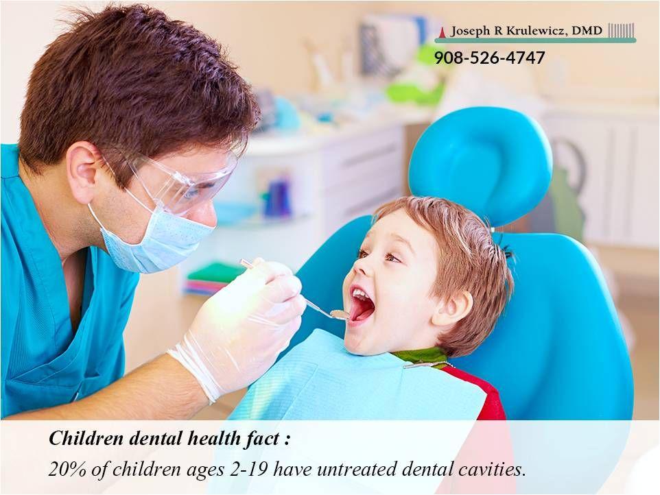 Children dental health fact 20 of children ages 219