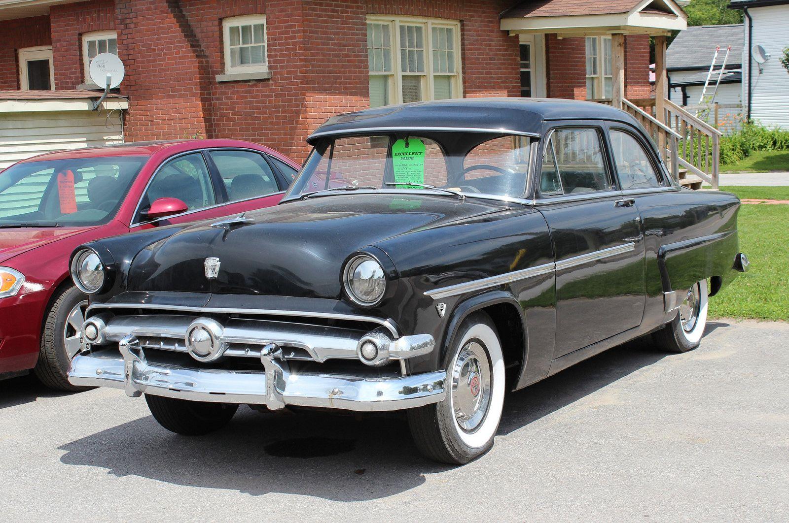 1956 chevrolet belair mjc classic cars pristine - 1954 Ford Mainline Had One Maroon 4 Door While In California Also A Green 2 Door In Indiana I Had This Car With 4 Doors Ford 1952 53 54 Pinterest