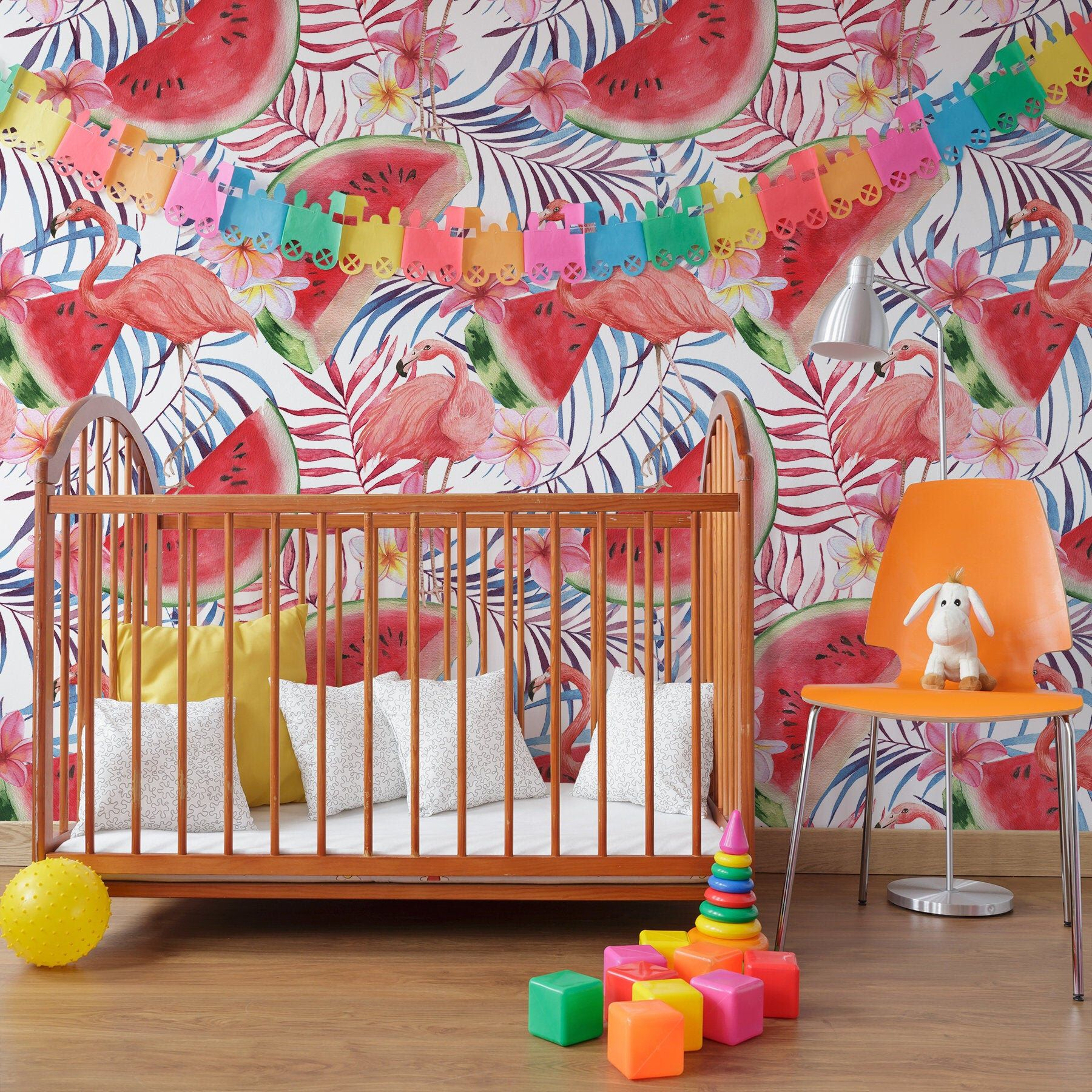 Bella Wallpaper Removable Wallpaper Peel And Stick Etsy Nursery Wall Decor Removable Wallpaper Girl Room