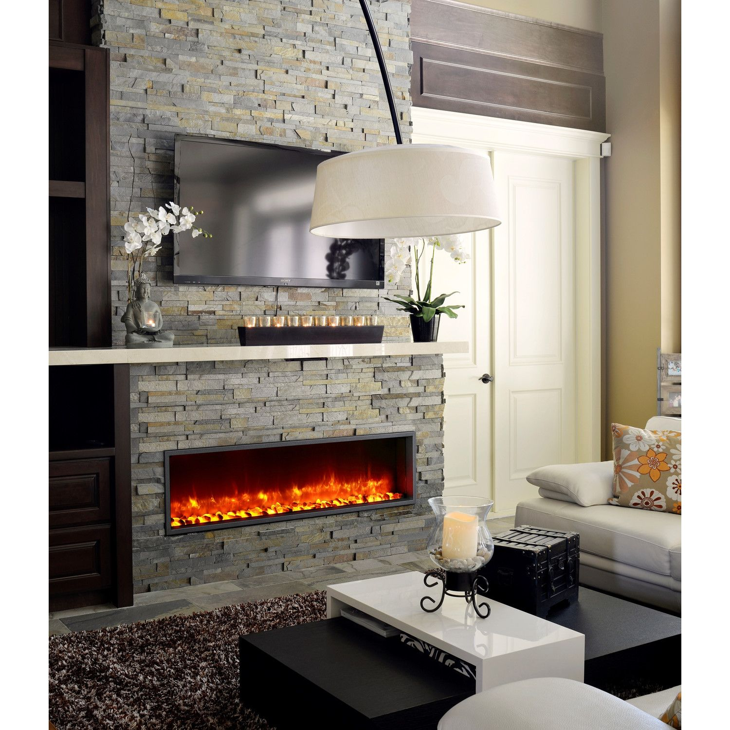 unique electric insert heat very top led new to home fireplace on nice no ideas design room photo trends interior
