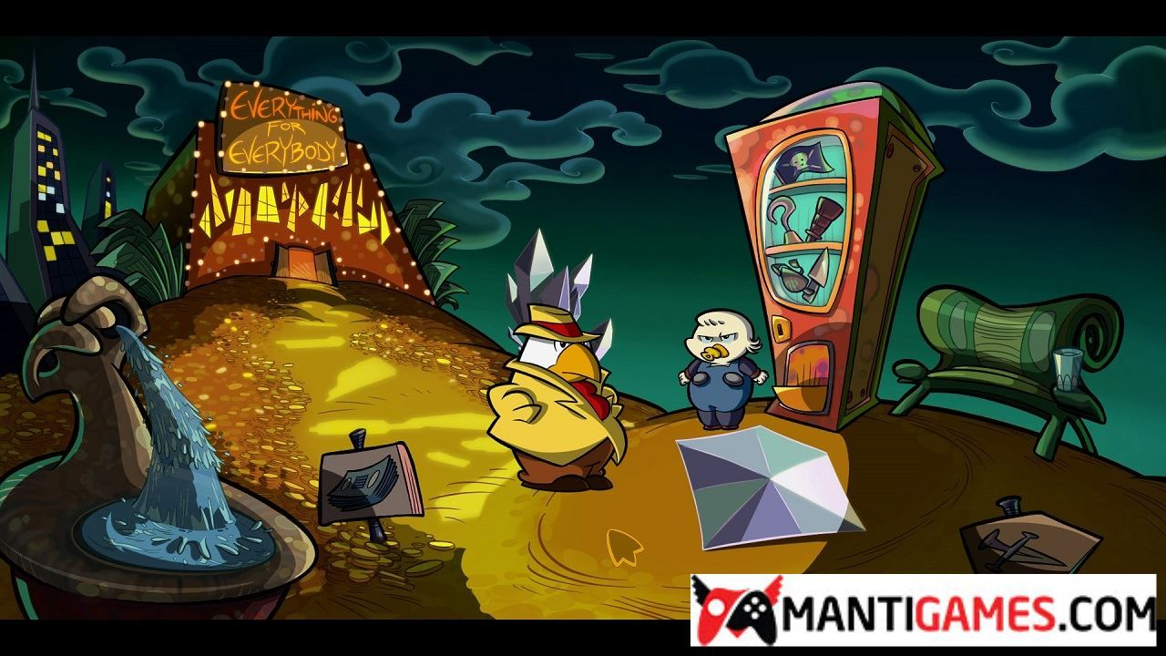 Point and click adventure game online free