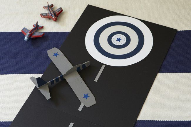 Vintage Airplane Birthday Party for Pottery Barn Kids Vintage