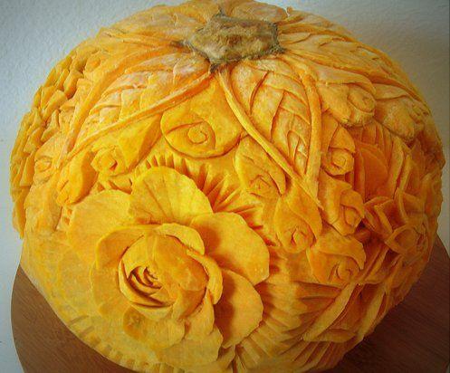 45++ Flower pumpkin carving ideas trends