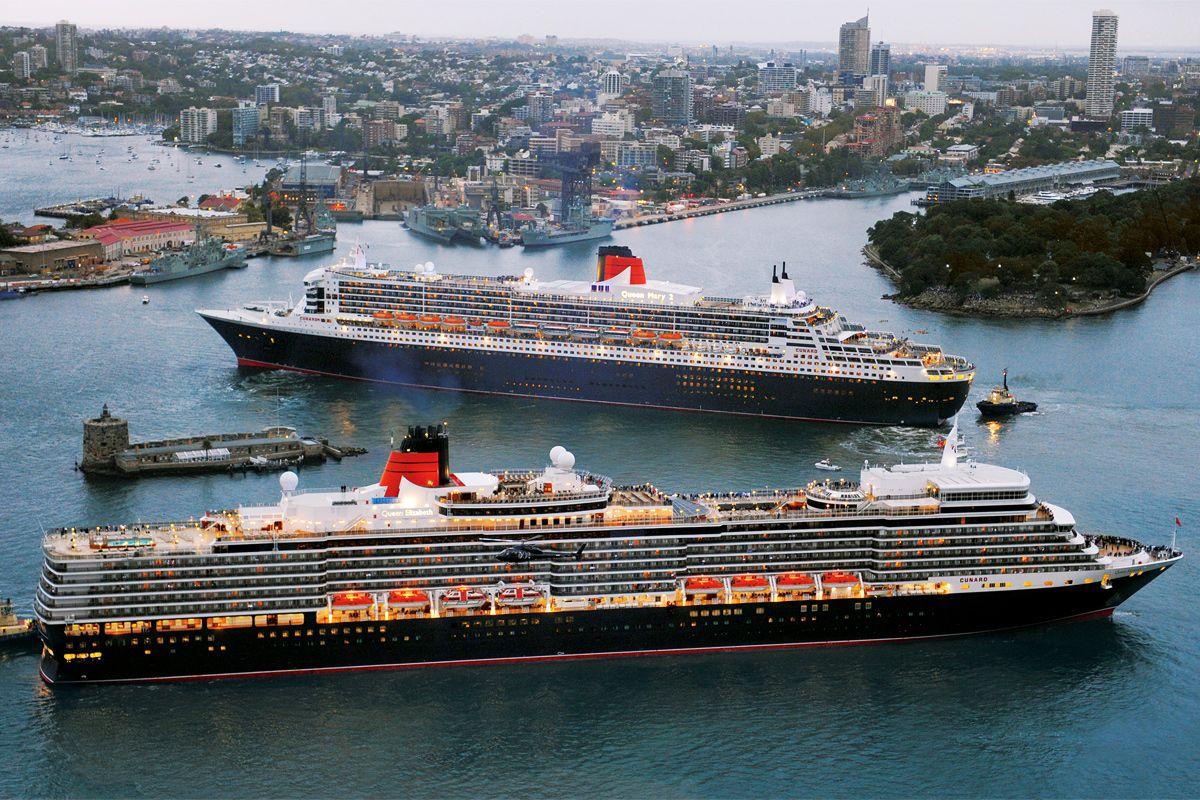 Cunard Ships In Sydney Australia Cunard Cruise Sydney - Queen elizabeth 2 cruise ship itinerary