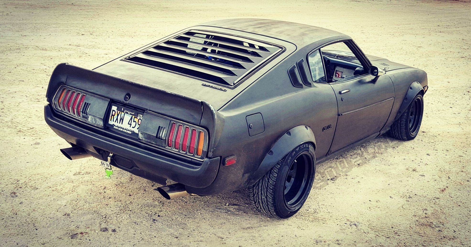 My 1977 Toyota Celica In The Wasteland J K Its At The