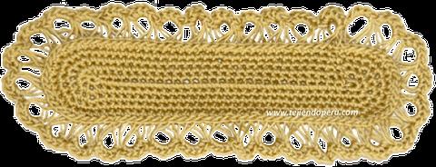 Cómo tejer el punto peruano a crochet (broomstick loop stitch)