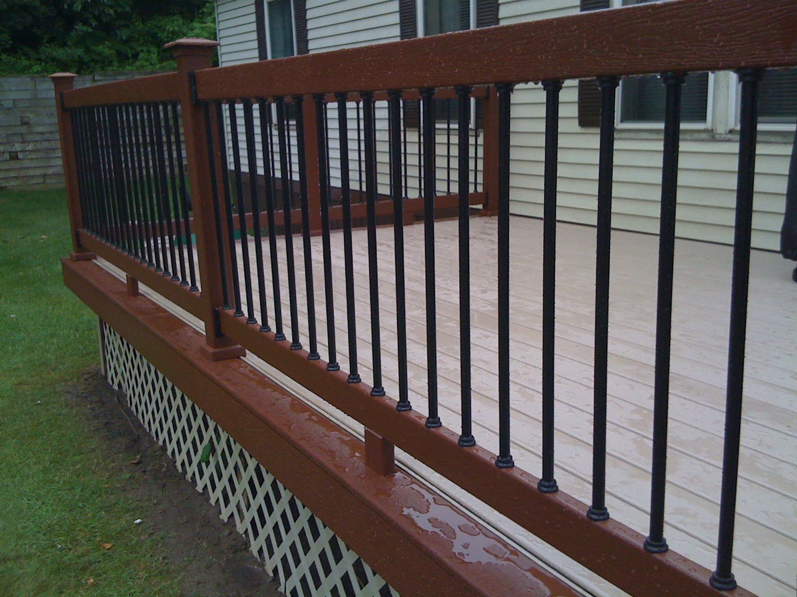 Fancy Popular Wrought Iron Deck Railing Wrought Iron Deck Railing Inspirational Exterior Design Cool Stair Balaster Design With Elegant Style Ideas