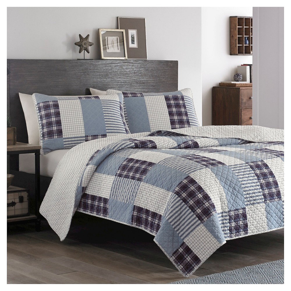 Where To Buy Fur Rug In Lagos: Camano Island Quilt And Sham Set (Full/Queen) Plum