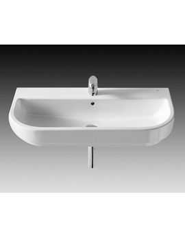 Bathroom Sinks Long Island roca long island wall hung basin 900mm wide | northey street