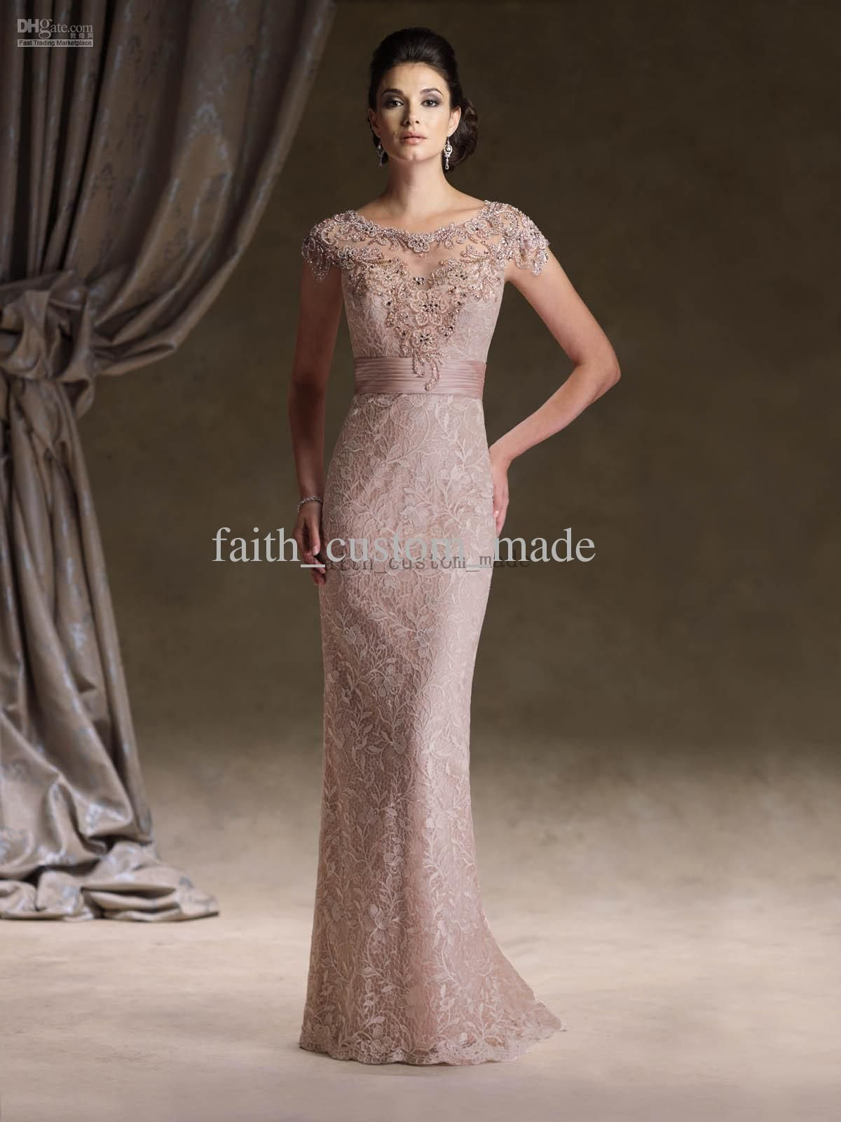 3 4 lace dress mother