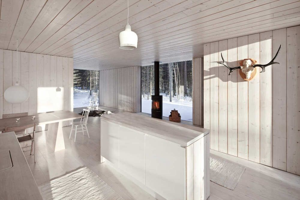 Finnish Interior Design white minimalist interior with minimalist finnish design | wood