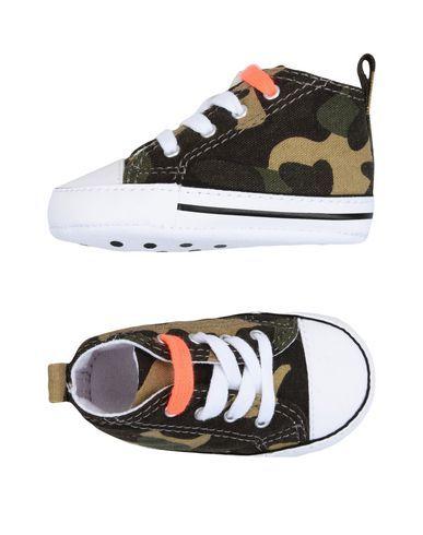CONVERSE ALL STAR Unisex Newborn shoes Military green 2C US
