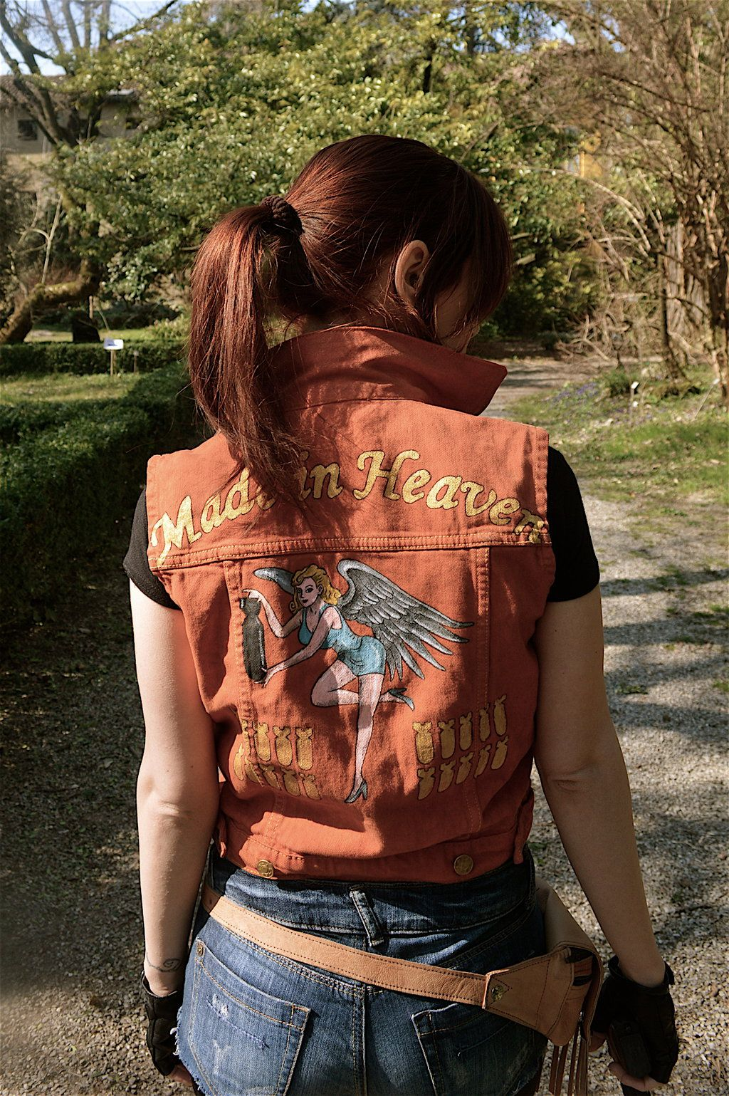 """Resident Evil 2 Remake Re Claire Redfield Cosplay Costume/""""Made in Heaven/""""Jacket"""