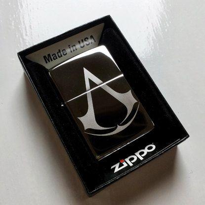 Custom Zippo Lighter Assassins Creed Symbol On Etsy 19 95