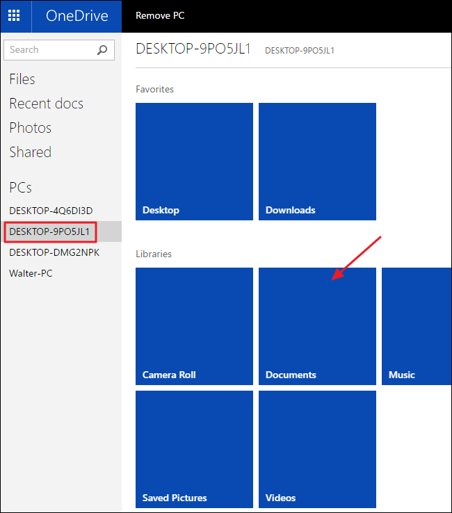 How to Remotely Fetch Any File On Your PC with OneDrive