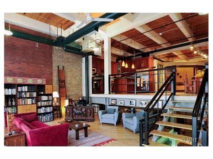 Chicago loft. I love it!