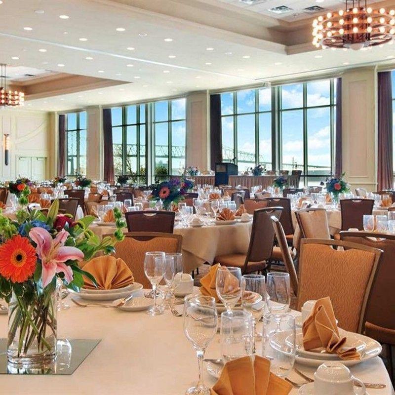 Hilton Baton Rouge Capitol Center Wedding Reception