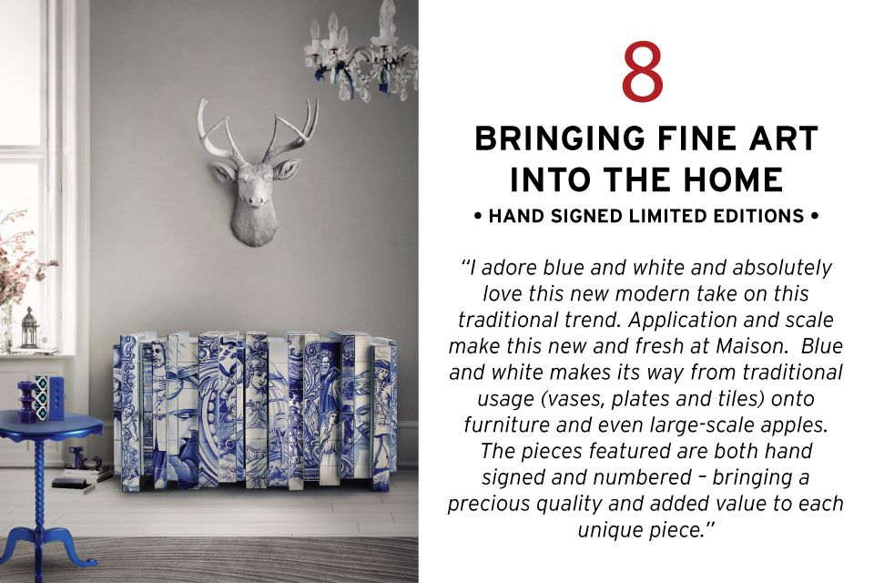 Chairish traditional trends blue and white creative