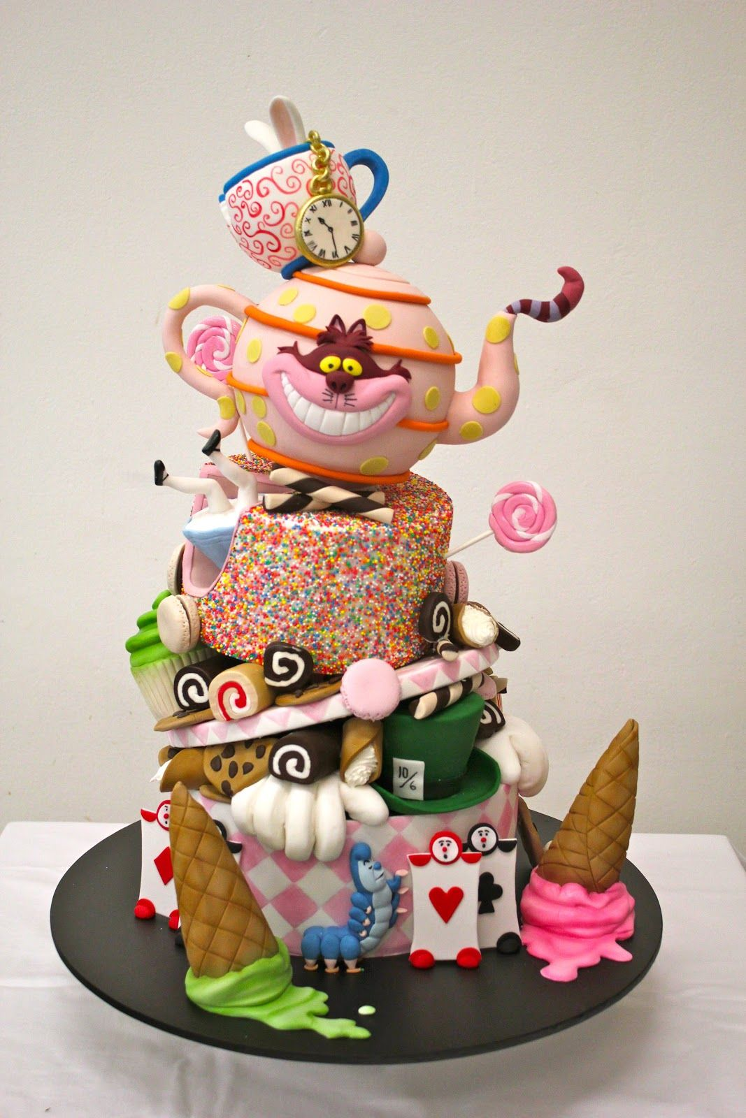 Mad Hatter Adult Theme Party Cake Google Search Mad Hatter