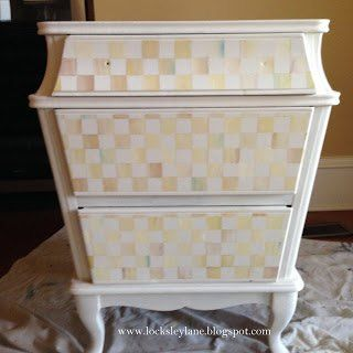 How To Make A Chest Look Like Mackenzie Child S Furniture Painted