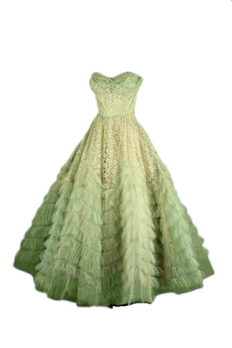 Meadow Green Gown Green Evening Dress Gowns Green Evening Gowns