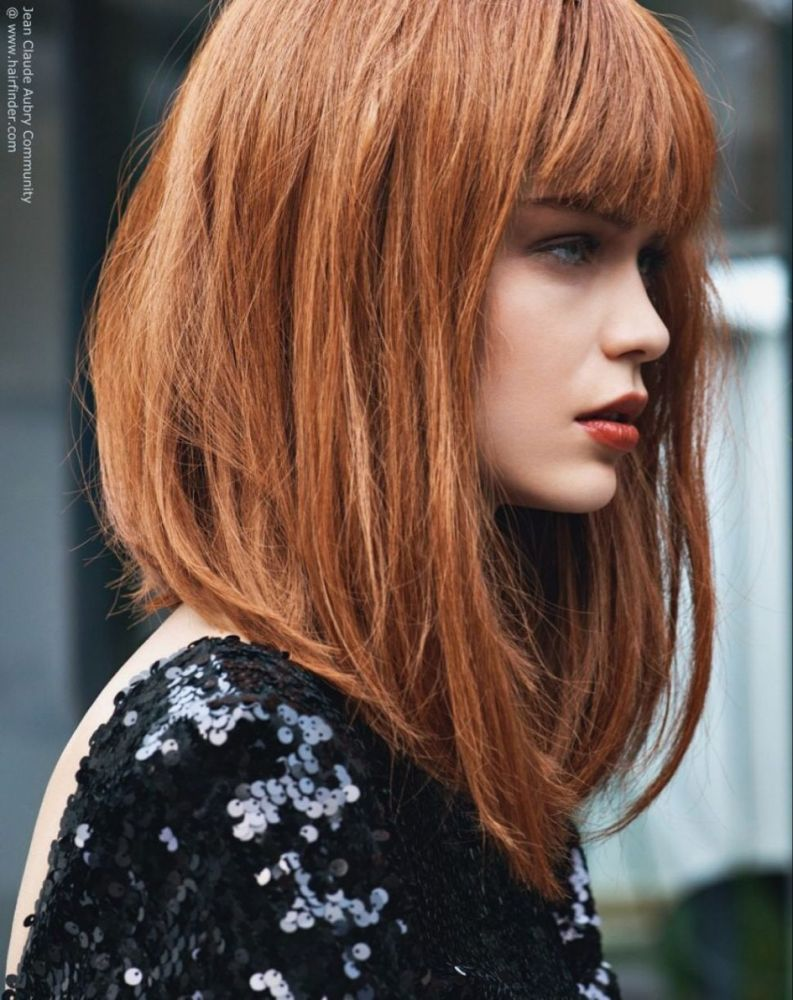 Long Hairstyle Long Bob Hairstyles For Fine Hair With Bangs Thin Curly Sew In Weave Cute Pint Angled Bob Hairstyles Modern Bob Hairstyles Long Bob Hairstyles