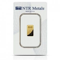 Ntr 1 10 Ounce Gold Bar In Assay Card Buy Gold And Silver Gold Bars For Sale Gold Bar