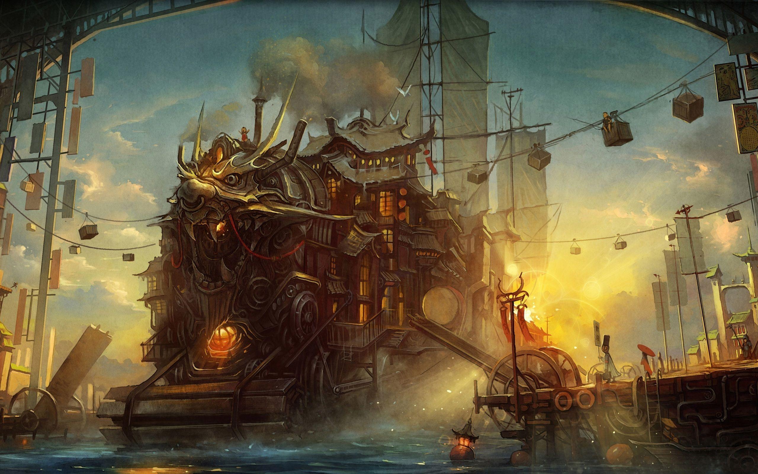 steampunk map wallpaper - photo #36