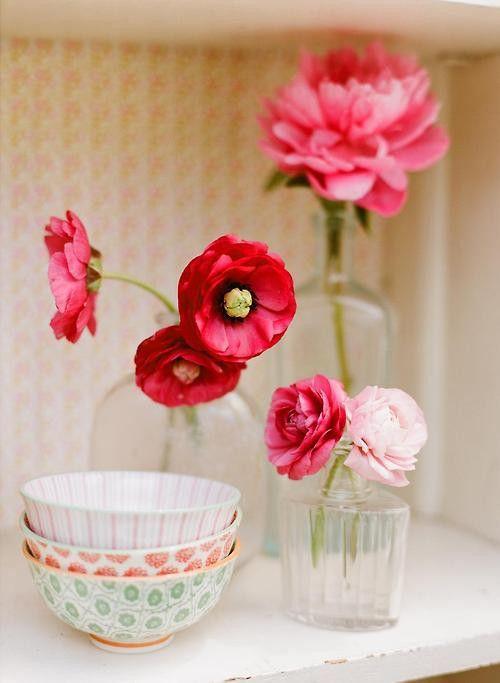Decoration Avec Des Fleurs #1: Décoration Avec Des Fleurs En Papier
