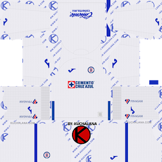 Cruz Azul 2019 2020 Kit Dream League Soccer Kits Kuchalana Soccer Kits Goalkeeper Kits Soccer