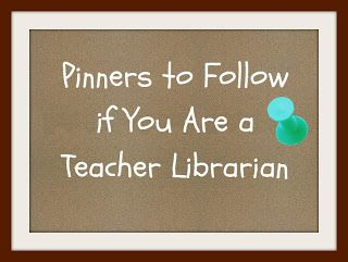 Ms. O Reads Books: Pinterest & Teacher Librarians