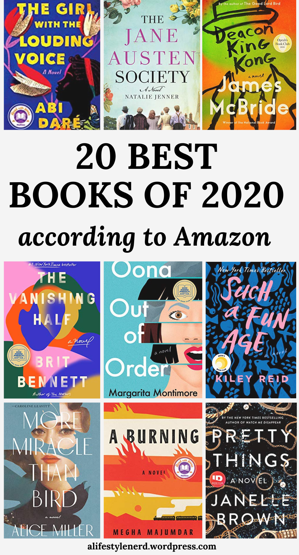 20 Best Books of 2020 to Read According to Amazon