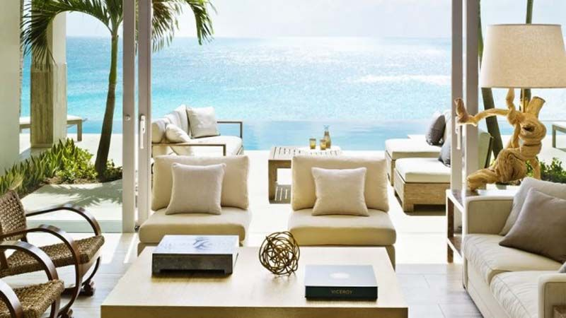 Dapper west indian viceroy villas luxury living with ocean views