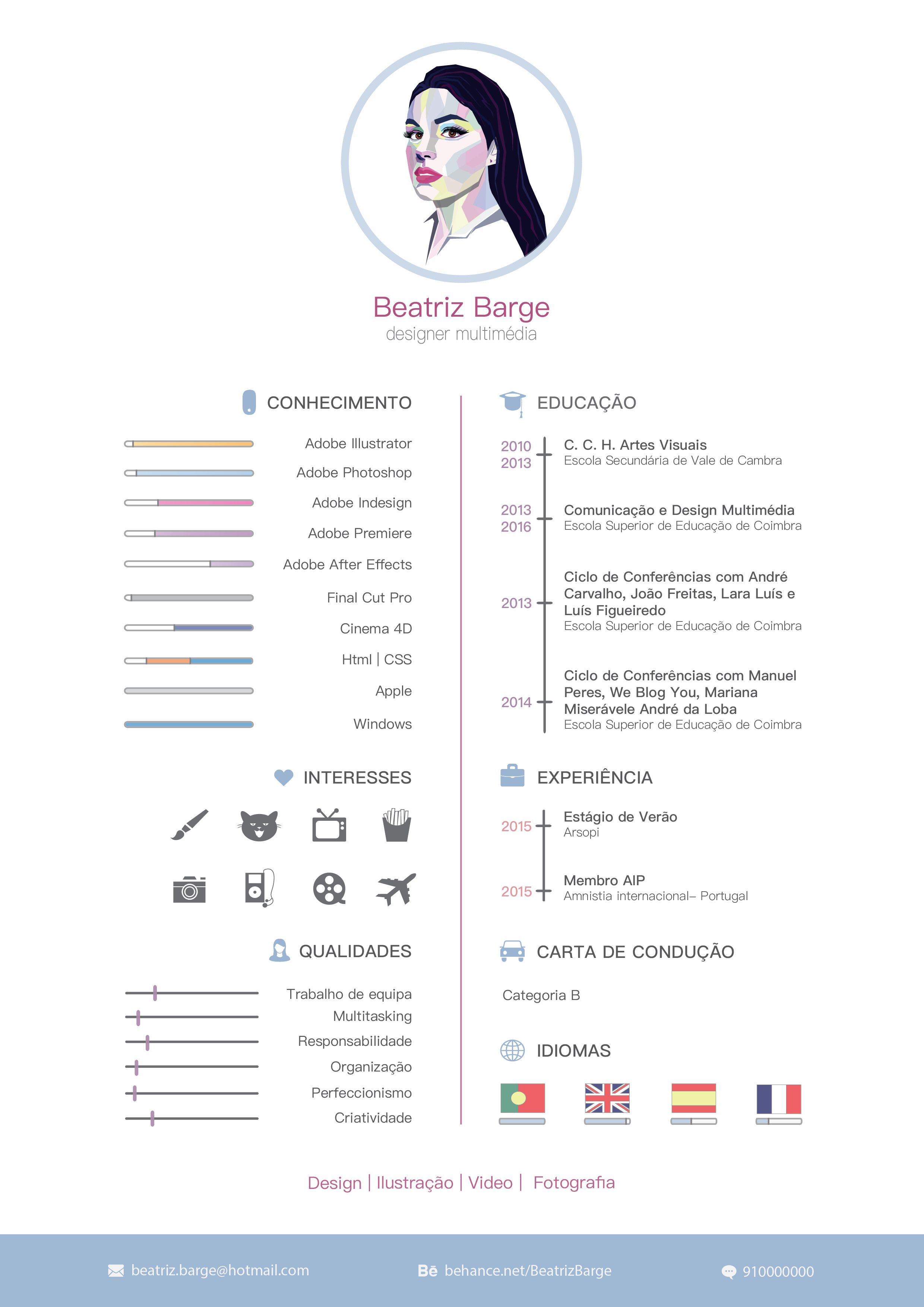 My Curriculum Vitae. 2015 | 포토폴리오 | Pinterest
