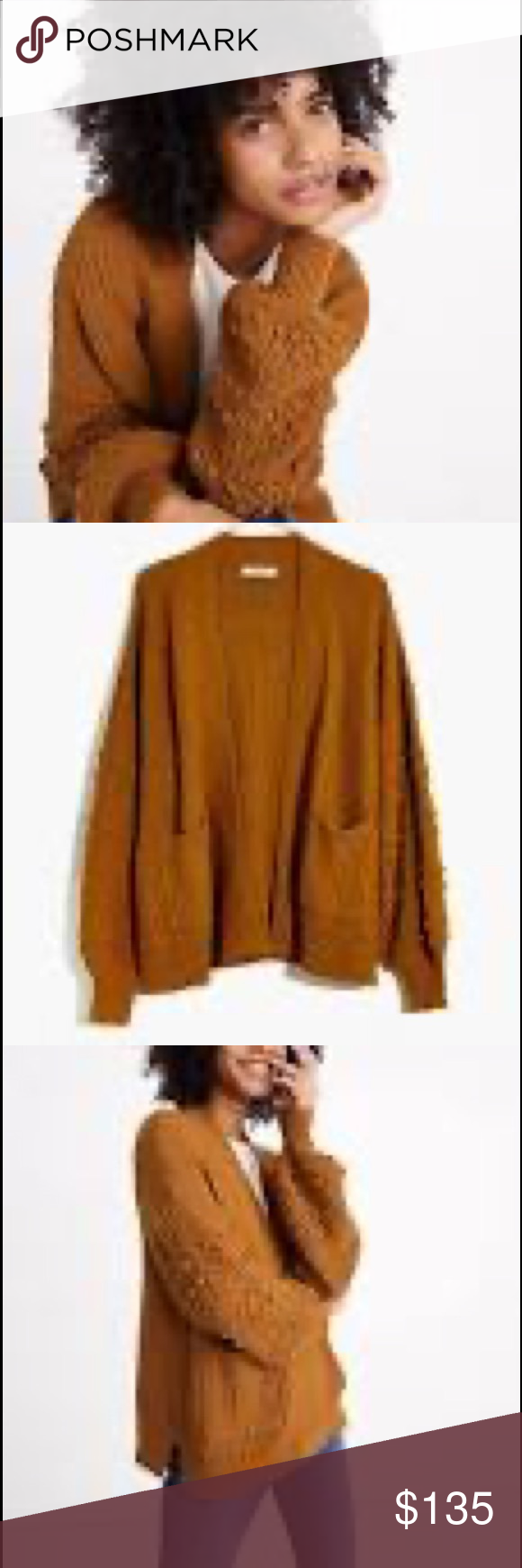 Madewell Bobble Cardigan No trade. Price is firm. Color