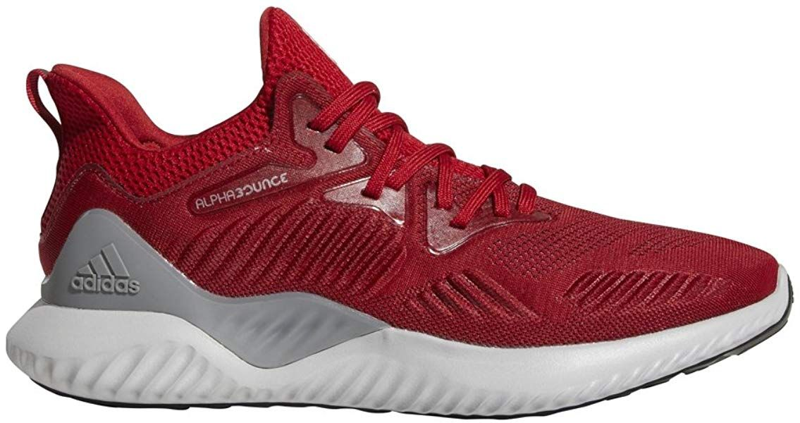 61cba65127 Amazon.com | adidas Men's Alphabounce Beyond Team Running Shoe, Power  red/White/Black, 8.5 M US | Road Running