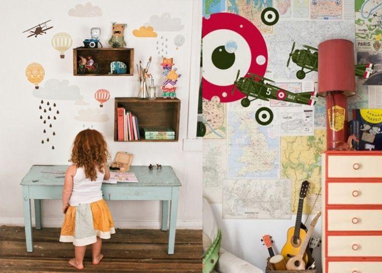 Stijlvolle Speeltafel Kinderkamer : Doen! pimp de kinderkamer met muurstickers kinderkamer pinterest