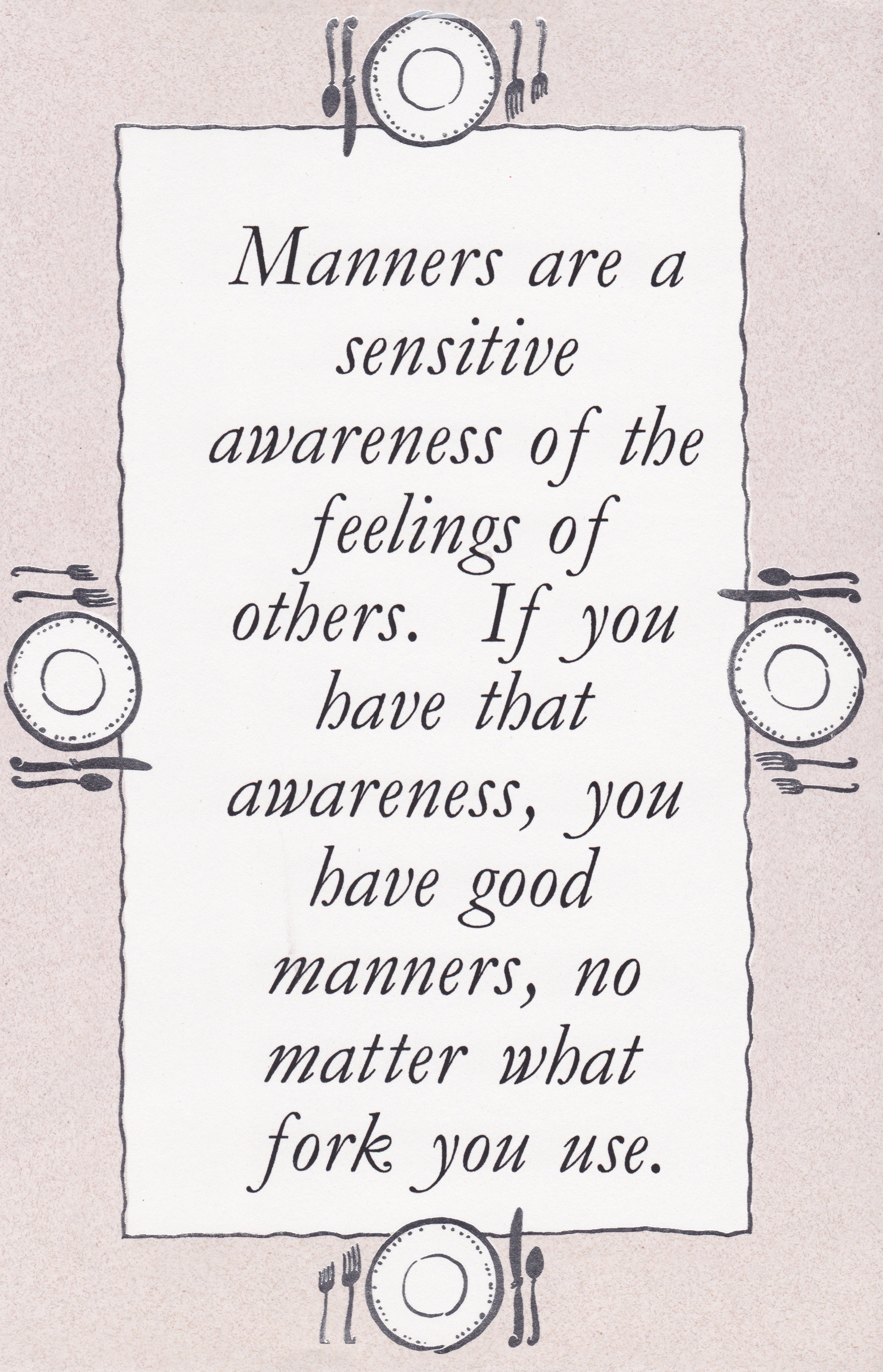 manners and paint by numbers art content in a cottage rudeness